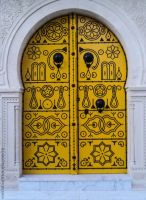 Door - Tunisia by Aymen-Ouertani