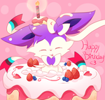 Happy Birthday Cress by FairyJonke
