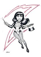 Zatanna - Kickstarter Reward by BillWalko