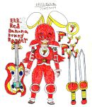 FBR Red Banana Bunny Ranger by RedWolf246