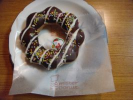 Mister Donut (christmas special) by Fuyuko7