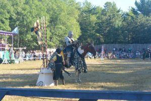 King Richard's Fair, Noble Knight Suiting Up by Miss-Tbones