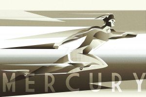 Mercury ART DECO by rodolforever