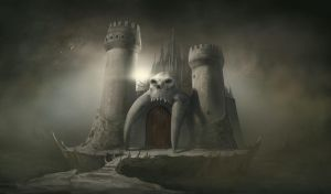 Castle Grayskull by Ginj