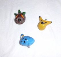 LoZ: Majora's Mask Charms by Shinkuni