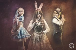 White Rabbit Chronicles by hellsign