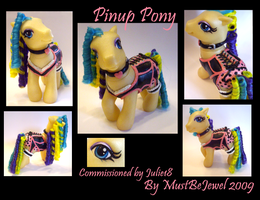 Pinup Pony Custom by customlpvalley