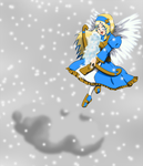 Winter Pic - Faye in the Sky by TrainerKelly