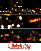 5 Bokeh City by Livingthefame