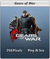 Gears of War - Icon by Crussong