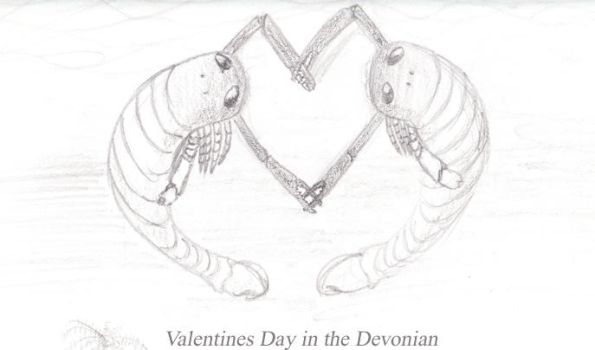 Valentines Day in the Devonian by dareiqsan