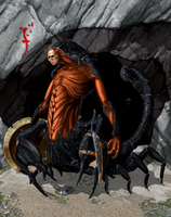 Scorpion Man by Caetis