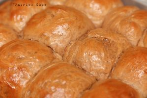 Salted caramel cocoa buns 2 by patchow