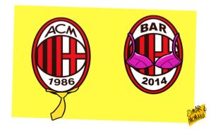 AC Milan now and then by OmarMomani