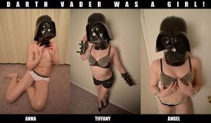 Darth Vader Was A Girl! by hoshq