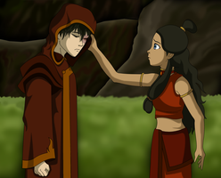 Zuko and Katara - day by IntricateMagic