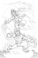Naruto and Weather Girl by universe-K