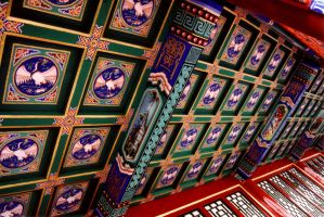 Chinese roof by jinhuang