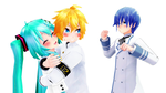 Sorry Kaito Miku love this white by Guilmaster12