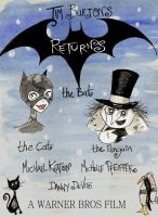 Batman Returns Poster contest by memorypalace