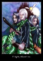 A Slightly Different Trio by firefly-wp