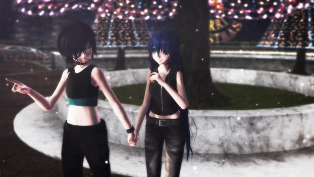 [MMD] With you by cioccolatina2000