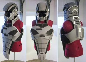 The slowest N7 armor build in history by hsholderiii