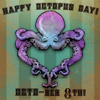 happy octopus day by BrianKesinger