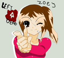 L4D Zoey by Mewx50