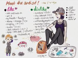 Meet the artist -me... by shiro1850