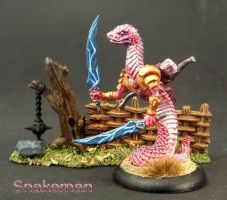 Snakeman by WinterFlightDesign