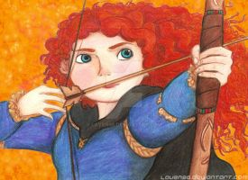 Merida from Big Four Collage by Laven96