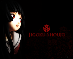 Jigoku Shoujo by Lierownya
