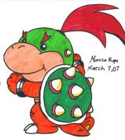 bowser jr 2 by Nintendrawer