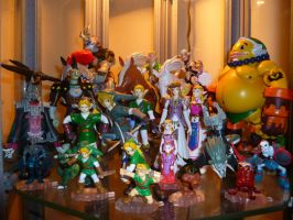 Zelda Figurines 3 by Linksliltri4ce