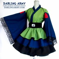Kakashi Naruto Cosplay Kimono Dress by DarlingArmy