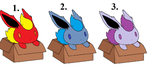 flareon in box adoptions by Amber11eevee