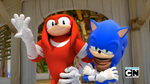 [Sonic Boom TV Series] Knuckles and Sonic by LuniiCookiez