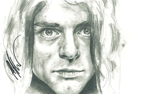 Yet Another Kurt Cobain by Flashback33