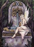 Fairy Wishing Well by SelinaFenech
