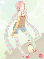 Pinky: Hello by pinkx2
