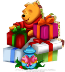 Pooh's Christmas by selinmarsou
