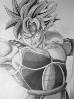 Bardock SSJ by Manthanaaa