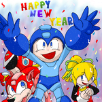 Have a Rockin New Year by G-Bomber