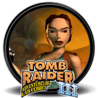 Tomb Raider 3 (1998) - Icon by Blagoicons