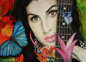 Amy Winehouse by LORMarie44