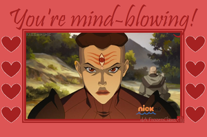 Valentine of Korra: P'li's Mind-Blowing! by FrozenClaws