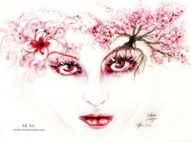 Cherry Blossom by Astaldo-Fea