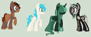 old pony ocs take one closed by mondobutt