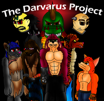 The Darvarus Project Title Pic by HuskiBunni